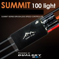 Dualsky Summit Light 100A, 2-8S, Bec