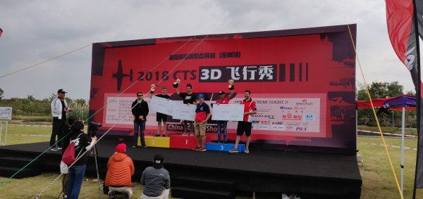 Team ML Hobby tog en fantastisk fin andraplats i China 3D Top Show!!