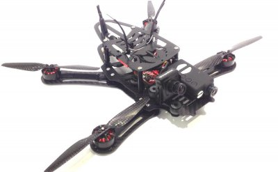 HiGH + MiGHTY EVADER 260 FPV Racing Quad