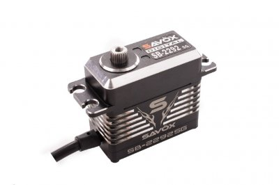 Savox SB-2290SG MONSTER Brushless. 7,4V, 50kg, 81gram